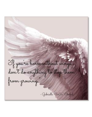"Canvastavla ""Wings"""