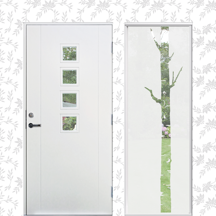 Fönsterdekor XL Björk