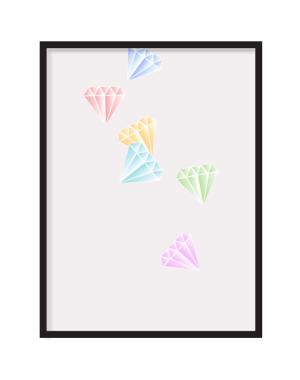 Pastelle Diamonds