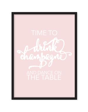 Texttavla Champagne