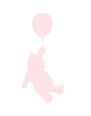 Väggdekor Pooh