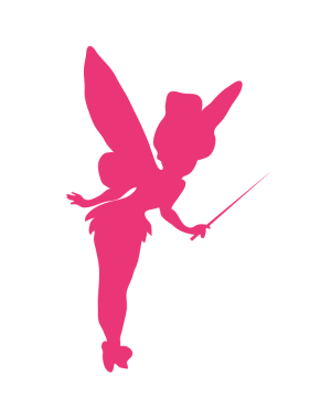 Väggdekor Tinker Bell